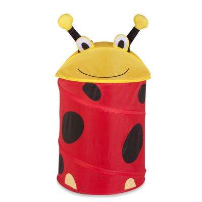 Medium Kid's Pop-Up Hamper Lady Bug