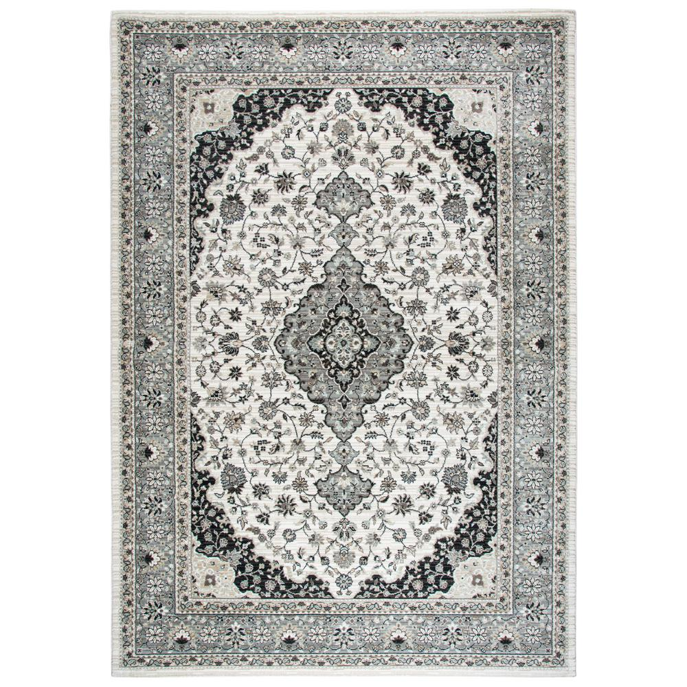 Rizzy Home Zenith Ivory Multi 10 Ft. X 13 Ft. Area Rug