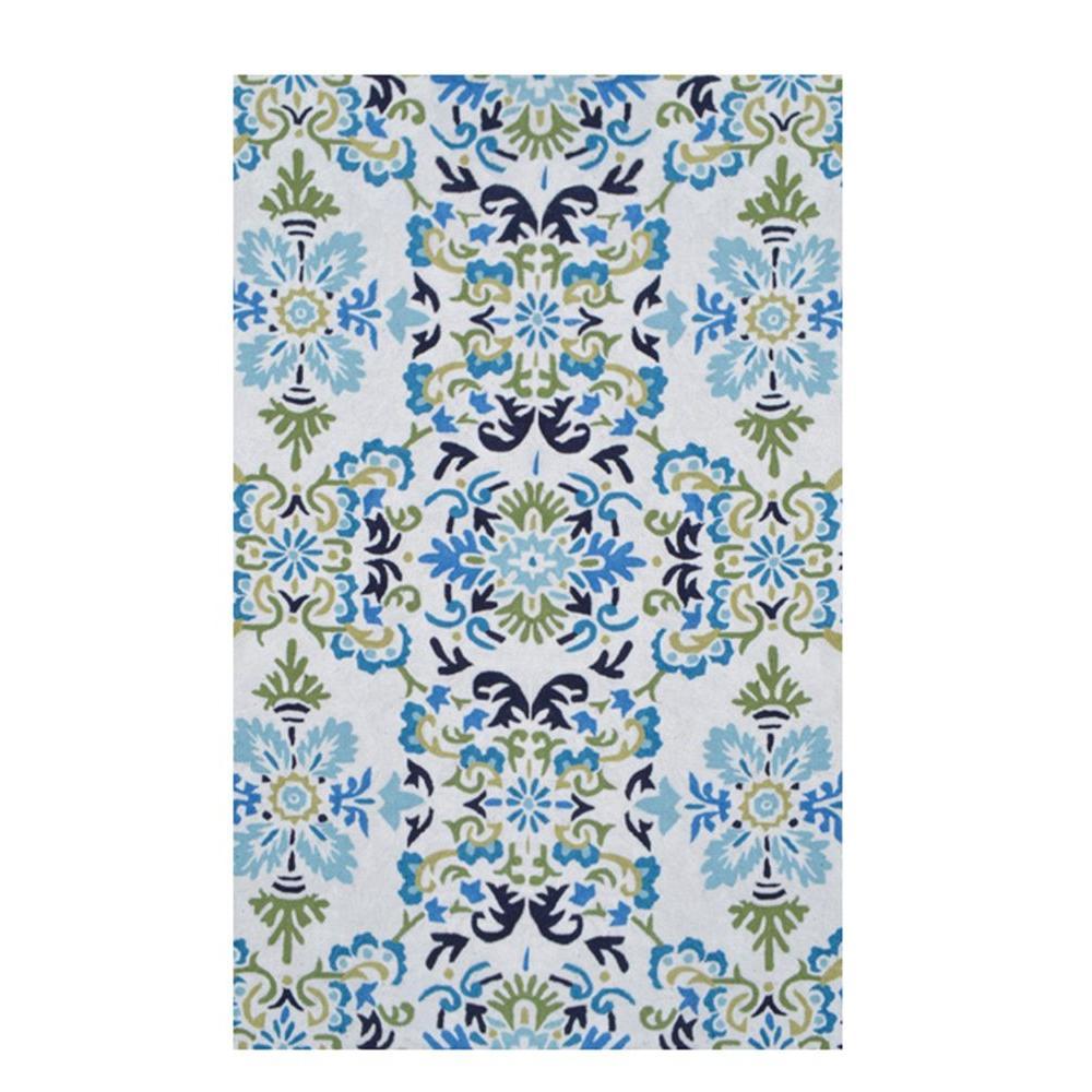 Seriano Blue 8 ft. x 10 ft. Indoor Area Rug