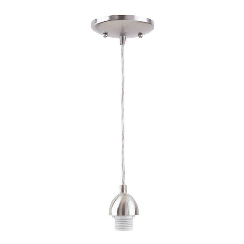 Brushed Nickel Light Fixtures For Kitchen