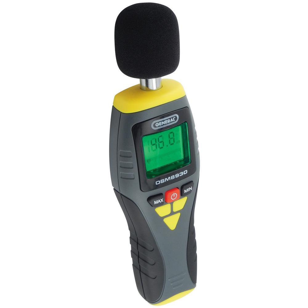 Porch Light Dsm: General Tools Digital Sound Level Meter With Analog Bar