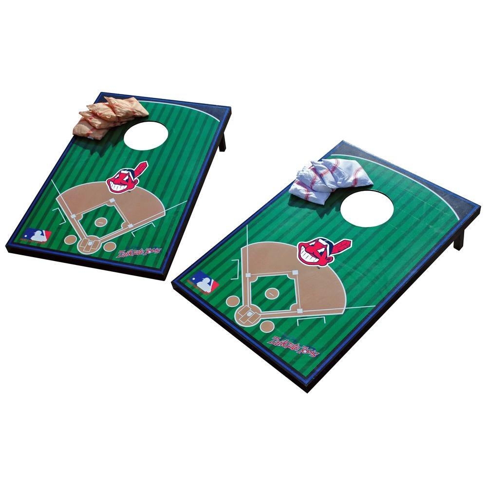 Wild Sports Cleveland Indians Tailgate Cornhole Toss