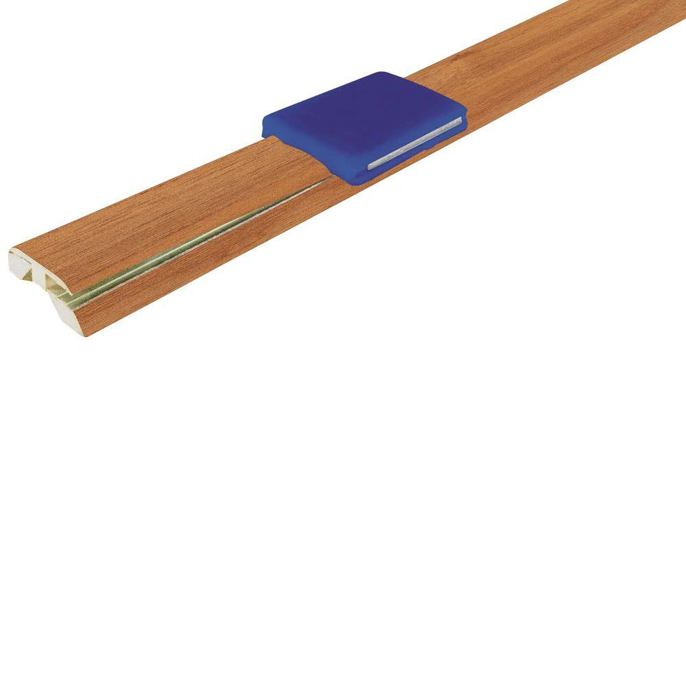 Mohawk American / Caramel 13.49 mm Thick x 1-7/8 in. Wide x 83.5 in. Length InstaForm 4-in-1 Laminate Molding