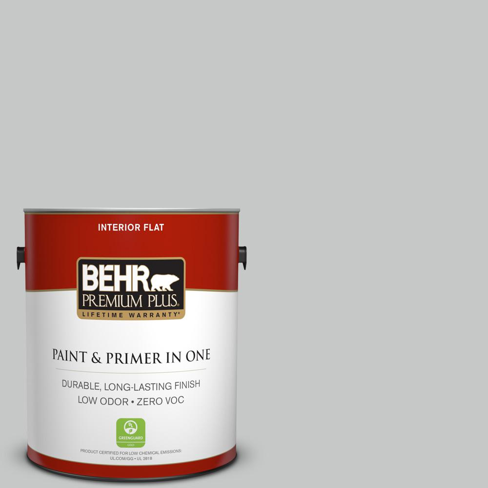 Exceptional #BNC 07 Frosted Silver Flat Interior Paint