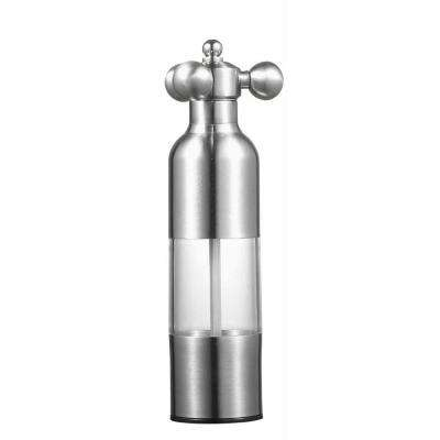 Trinidad 8 in. Stainless Steel Pepper Mill and Grinder