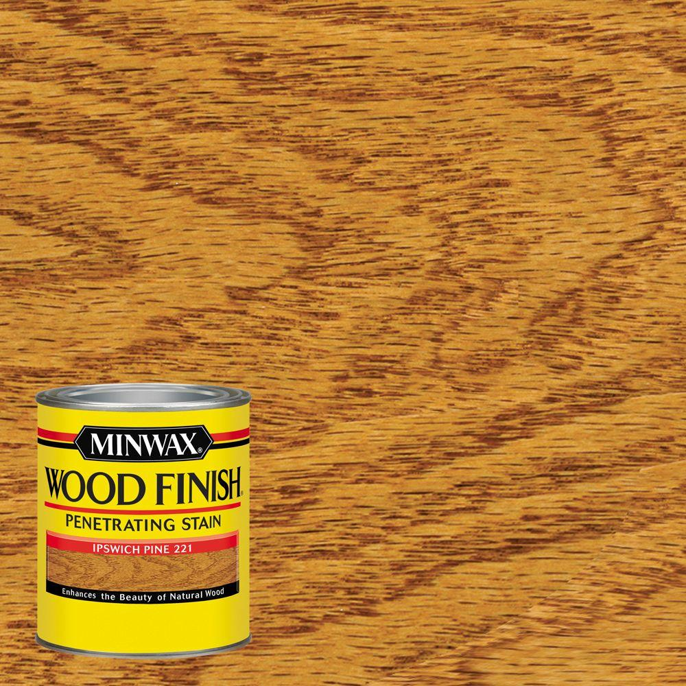 1 qt. Wood Finish Ipswich Pine Oil Based Interior Stain