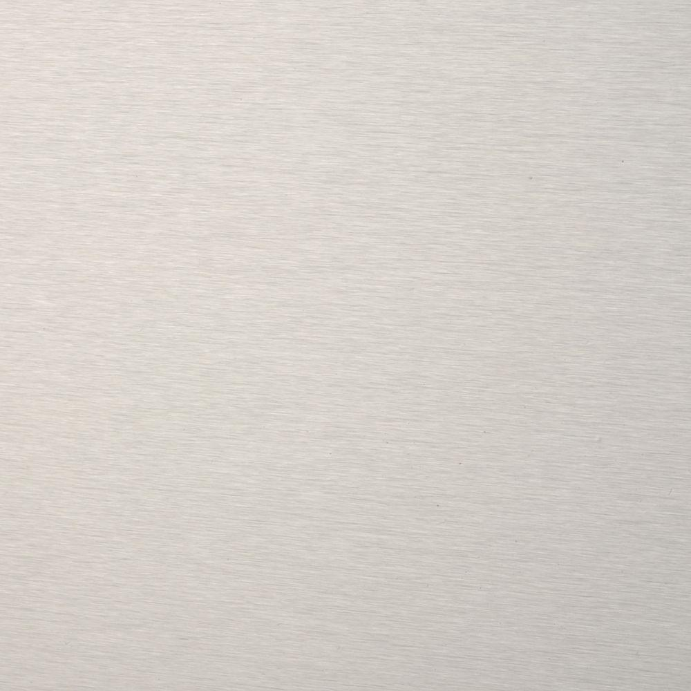 Frigo Design 30 in. x 30 in. Polished Stainless Steel Backsplash