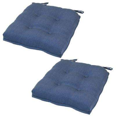 20 5 X Outdoor Chair Cushion In Standard Sky Blue 2 Pack