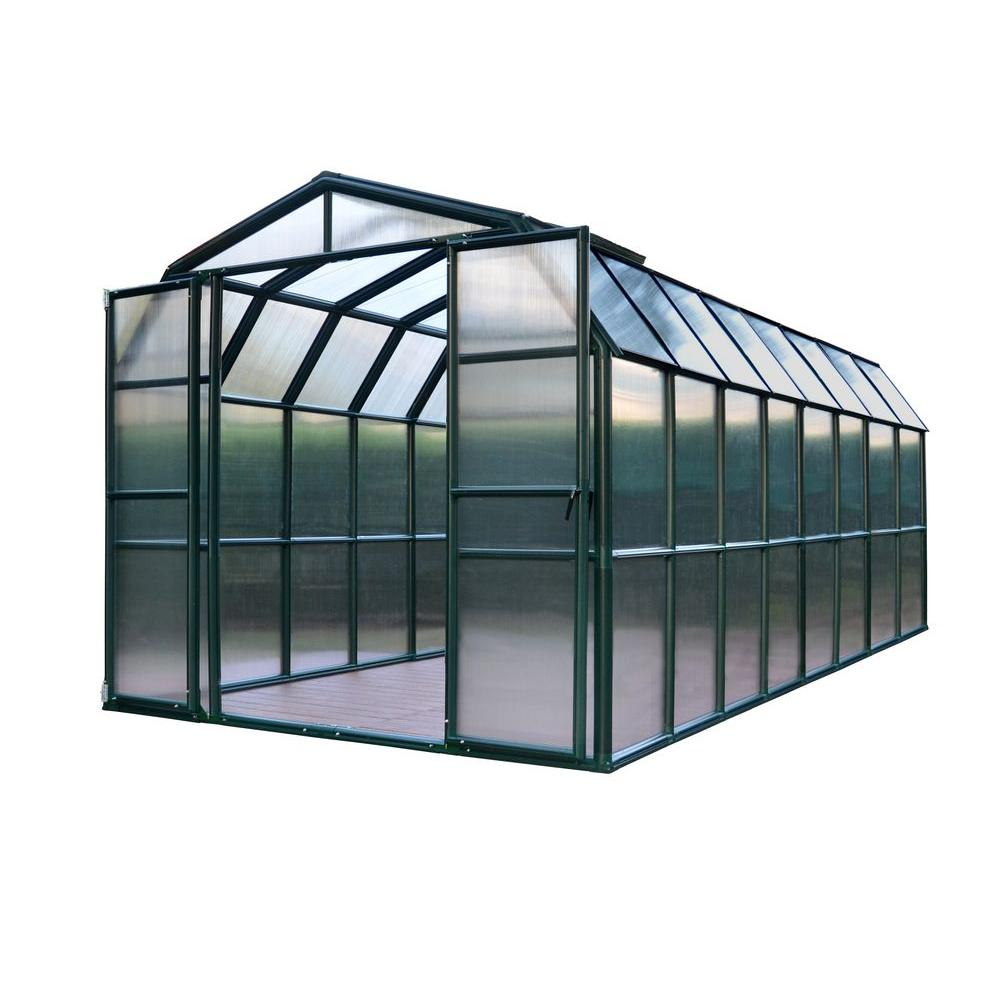 Rion Grand Gardener 8 ft. x 16 ft. Opaque Greenhouse