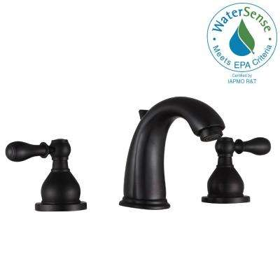 Raider 8 in. Widespread 2-Handle Bathroom Faucet in Oil Rubbed Bronze