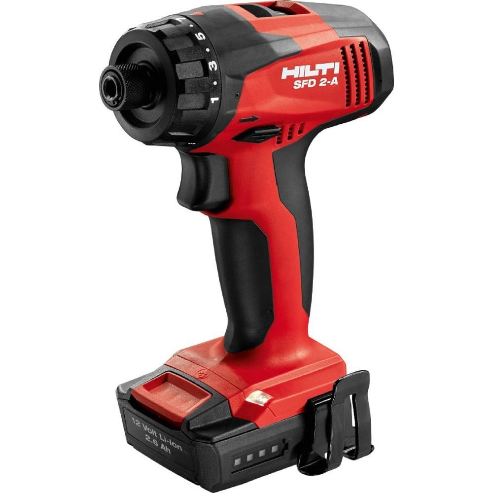 12-Volt Lithium-Ion 1/4 in. Cordless Drill Driver SFD 2-A