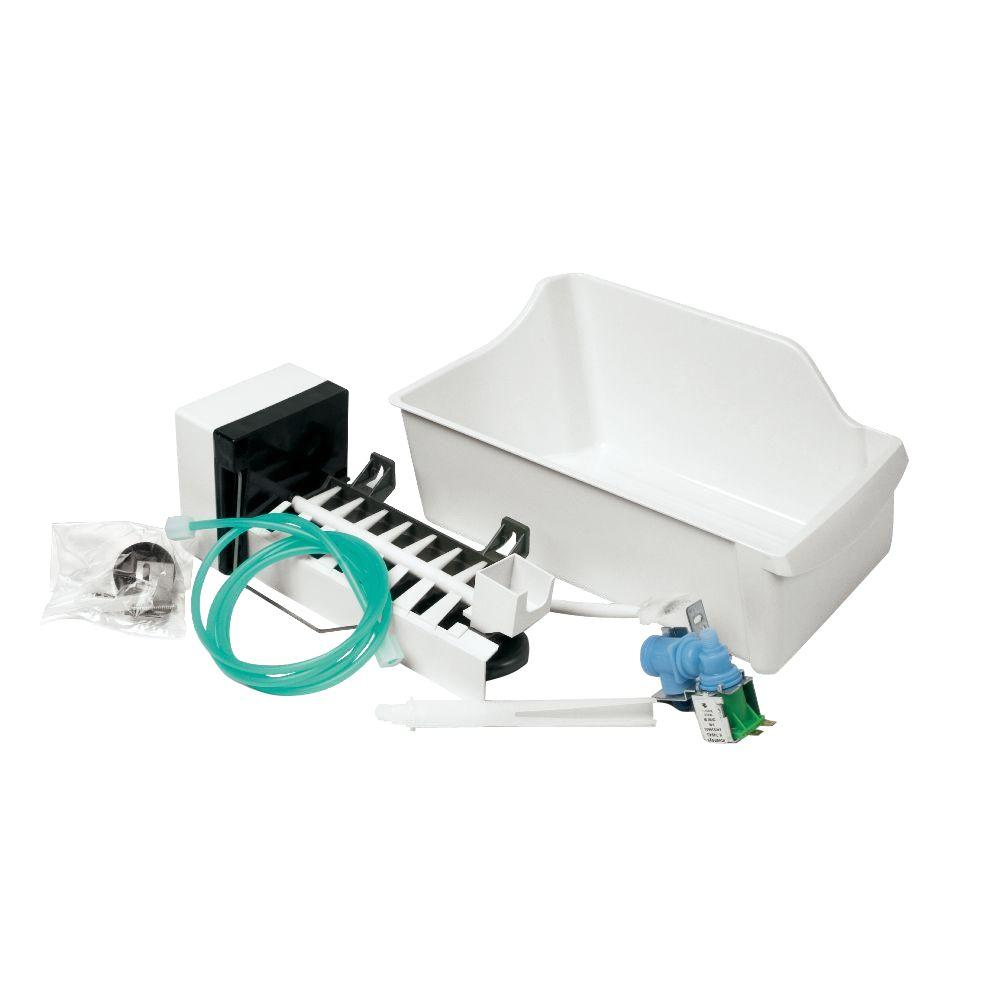 Universal Top Mount Refrigerator Ice Maker Kit