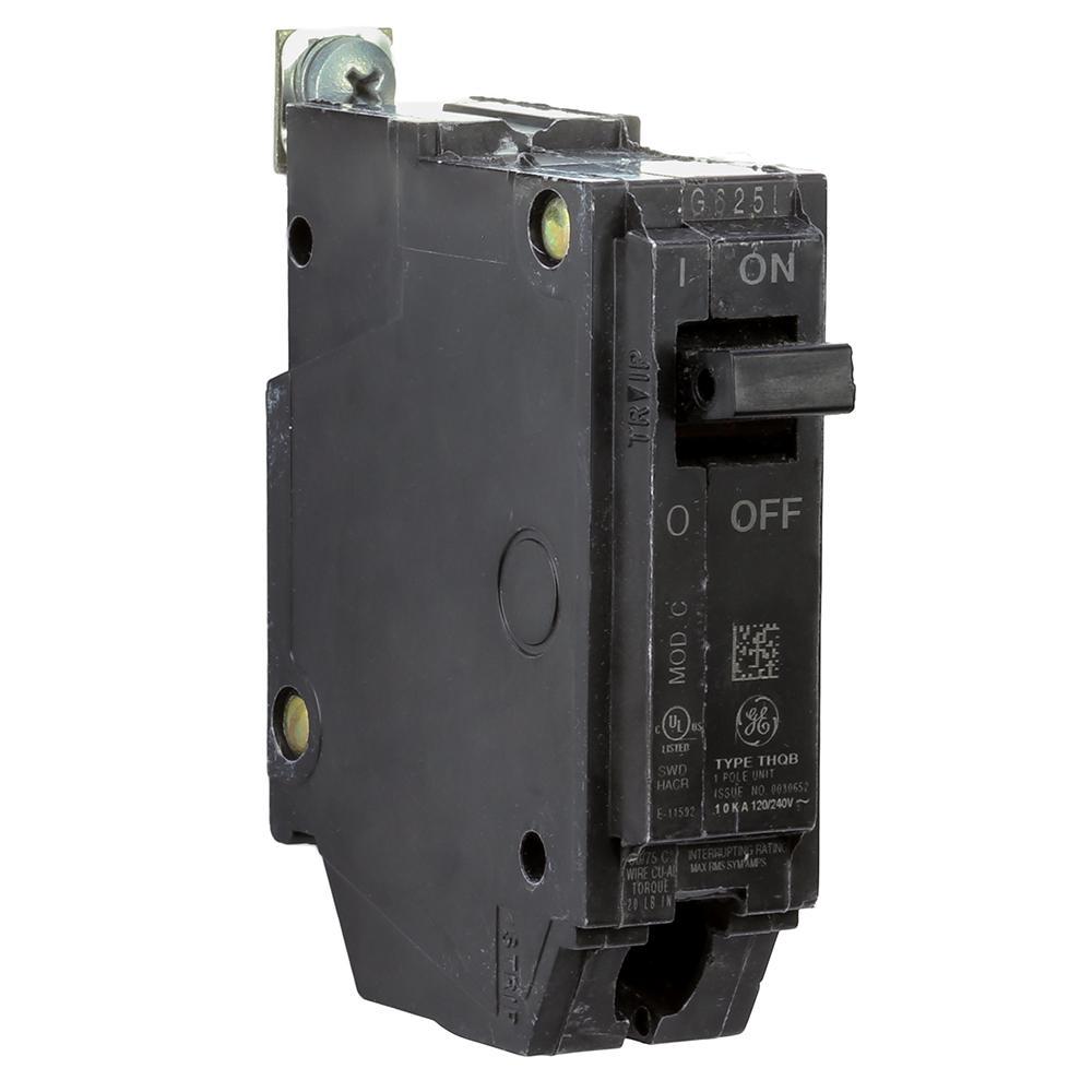 USED GE THQB1130 THQB 1P 120V 30 AMP BOLT ON CIRCUIT BREAKER
