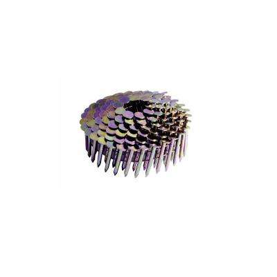 1 in. x 0.120 in. Electro-Galvanized Metal Coil Roofing Nails (7,200 per Box)