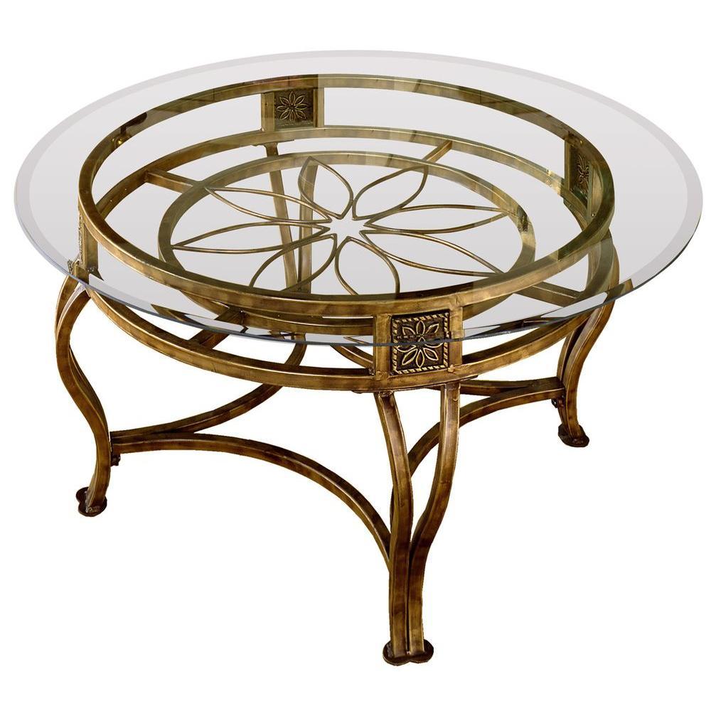 Hillsdale Furniture Scottsdale Brown Rust Coffee Table