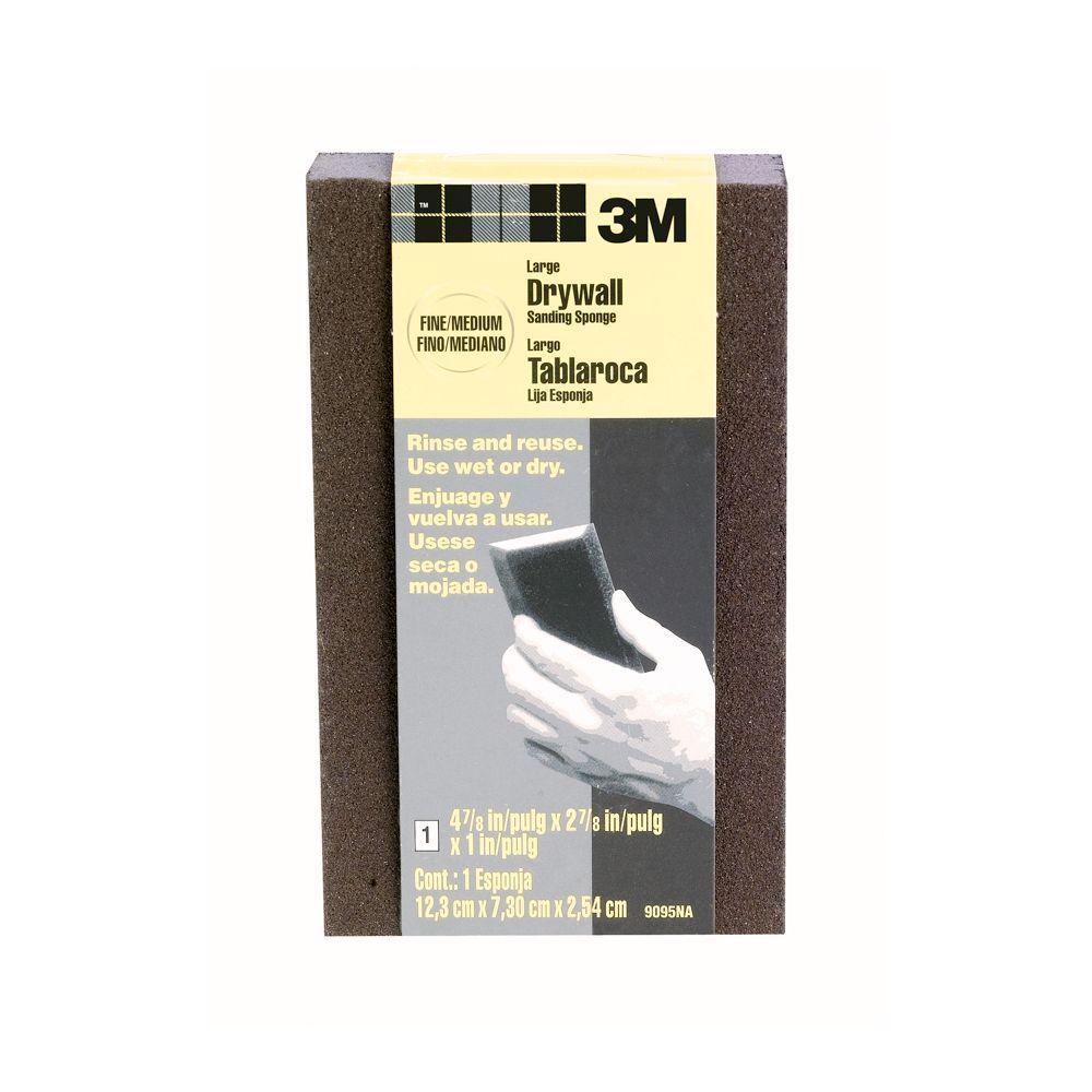 3m 4 875 In X 2 875 In X 1 In Fine Medium Grit Drywall Sanding