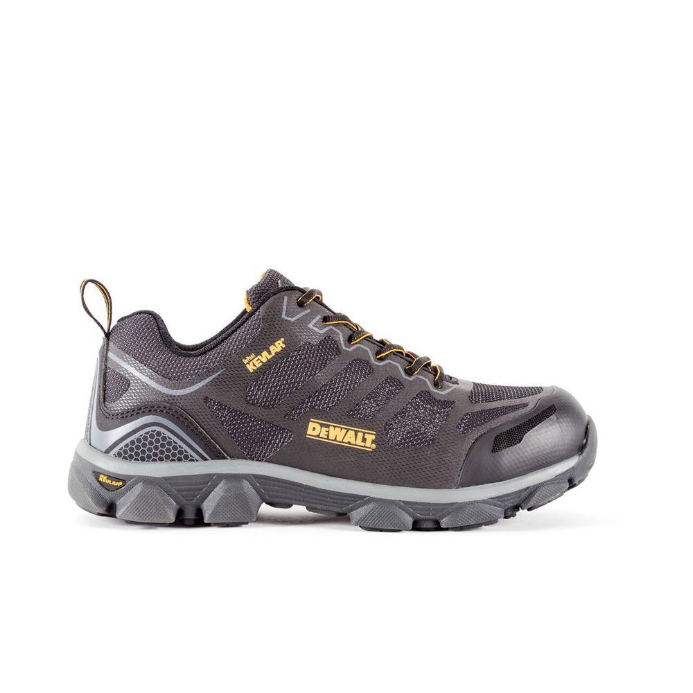DEWALT Crossfire Low Men's Black Kevlar Aluminum Toe ProLite Work Shoe