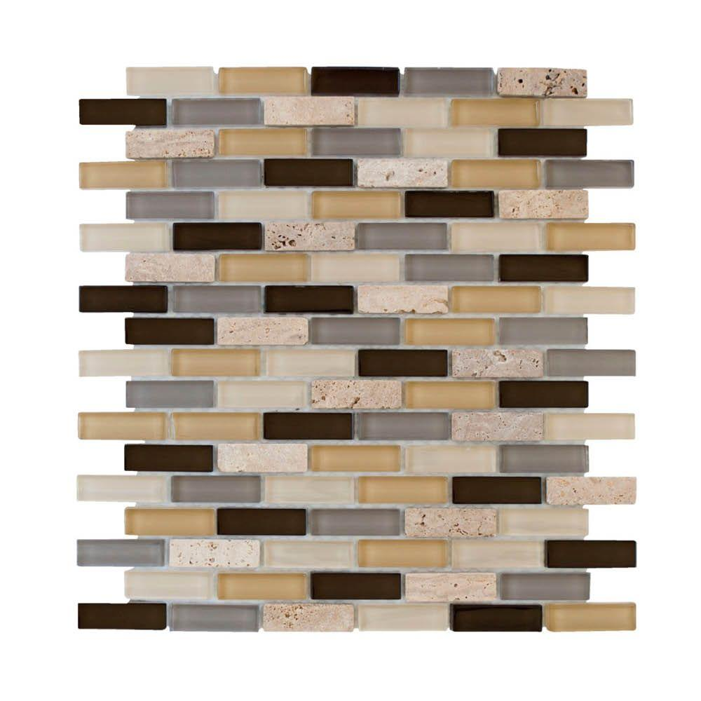 Jeffrey Court Castle Stone Brick 12 In. X 12 In. X 8 Mm