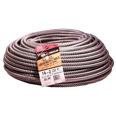 14/2 x 250 ft. Solid CU BX/AC (AL Armored Cable) Armorlite Cable