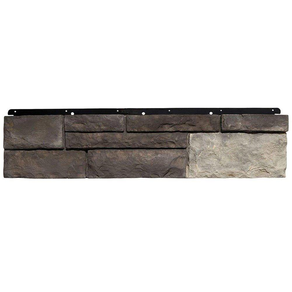 Boral 8 in. x 36 in. Versetta Stone Tight-Cut Corner Graphite ...