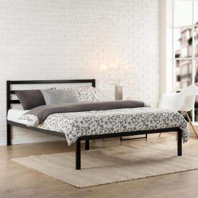 Modern Studio Black Full Platform Bed