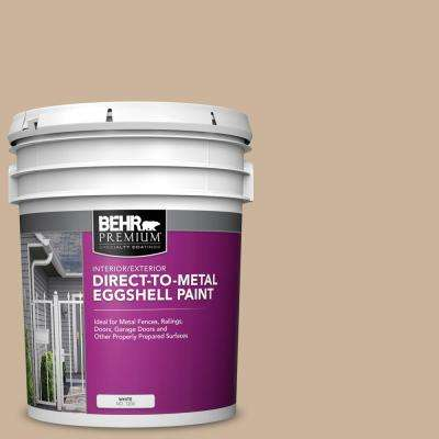 5 gal. #PPU4-07 Mushroom Bisque Eggshell Direct to Metal Interior/Exterior Paint