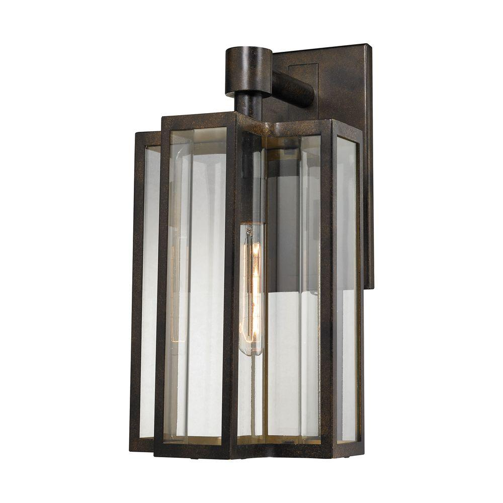 Titan lighting bianca 1 light hazelnut bronze outdoor sconce tn titan lighting bianca 1 light hazelnut bronze outdoor sconce arubaitofo Gallery