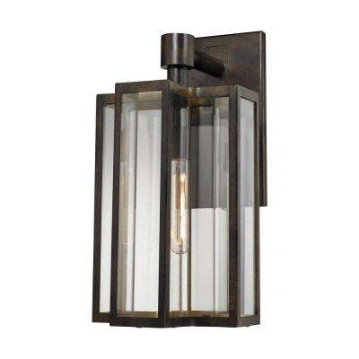 Bianca 1-Light Hazelnut Bronze Outdoor Sconce