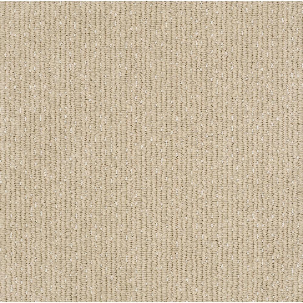 Carpet Sample - Naples - Color Shoreline Loop 8 in. x 8 in.