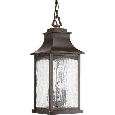 Maison Collection 2-Light Outdoor Oil-Rubbed Bronze Hanging Lantern