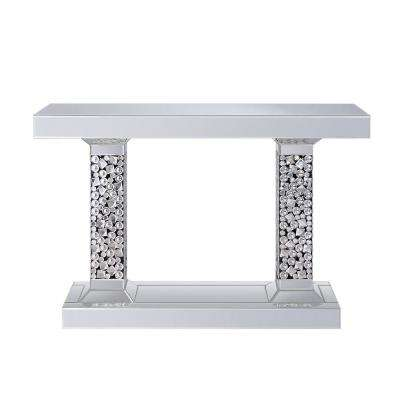Kachina Mirrored and Faux Diamonds Console Table
