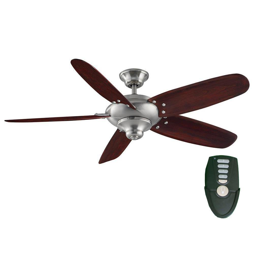 Home Decorators Collection Altura 56 In Indoor Oil Rubbed Bronze Ceiling Fan With Remote Control 26655 The Depot