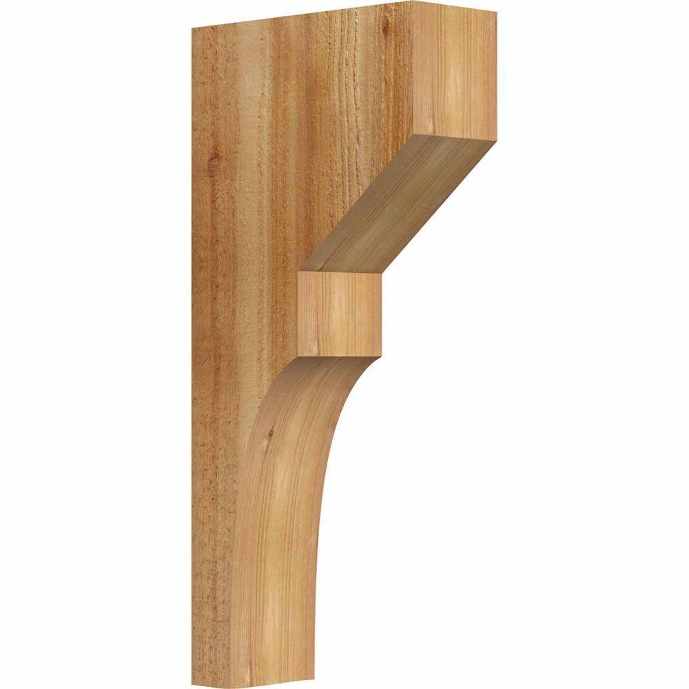 4 in. x 10 in. x 22 in. Western Red Cedar