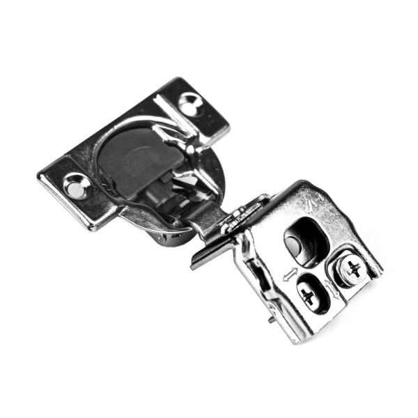 105-Degree 1-1/2 in. (35 mm) Overlay Soft Close Face Frame Cabinet Hinges with Installation Screws (30-Pairs)