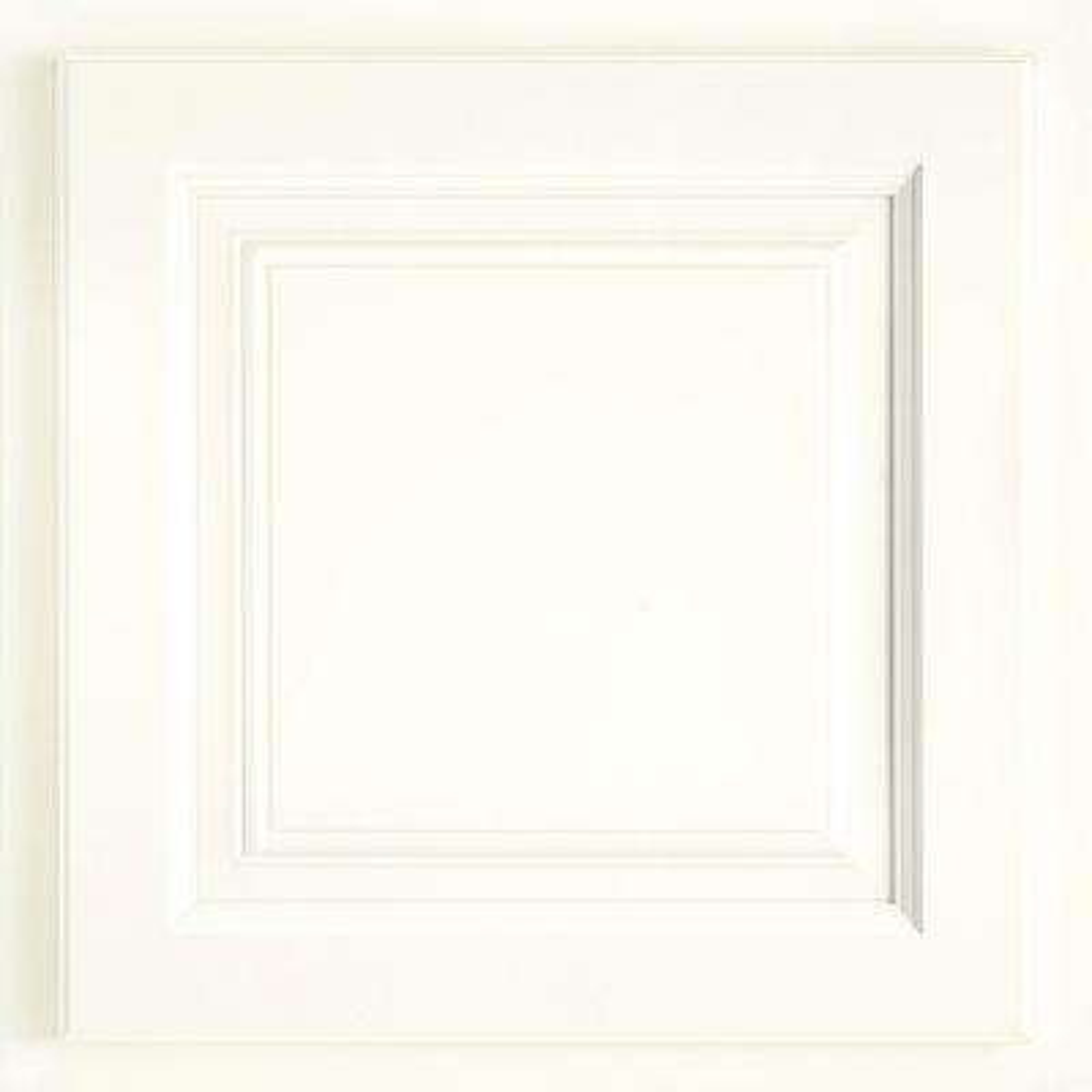 13x12-7/8 in. Cabinet Door Sample in Newport Painted Linen