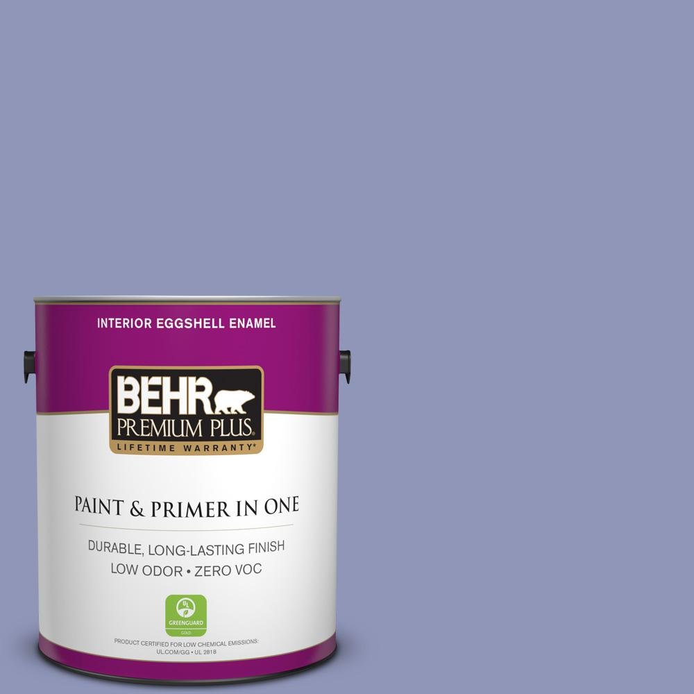 1-gal. #BIC-20 Lively Lilac Eggshell Enamel Interior Paint