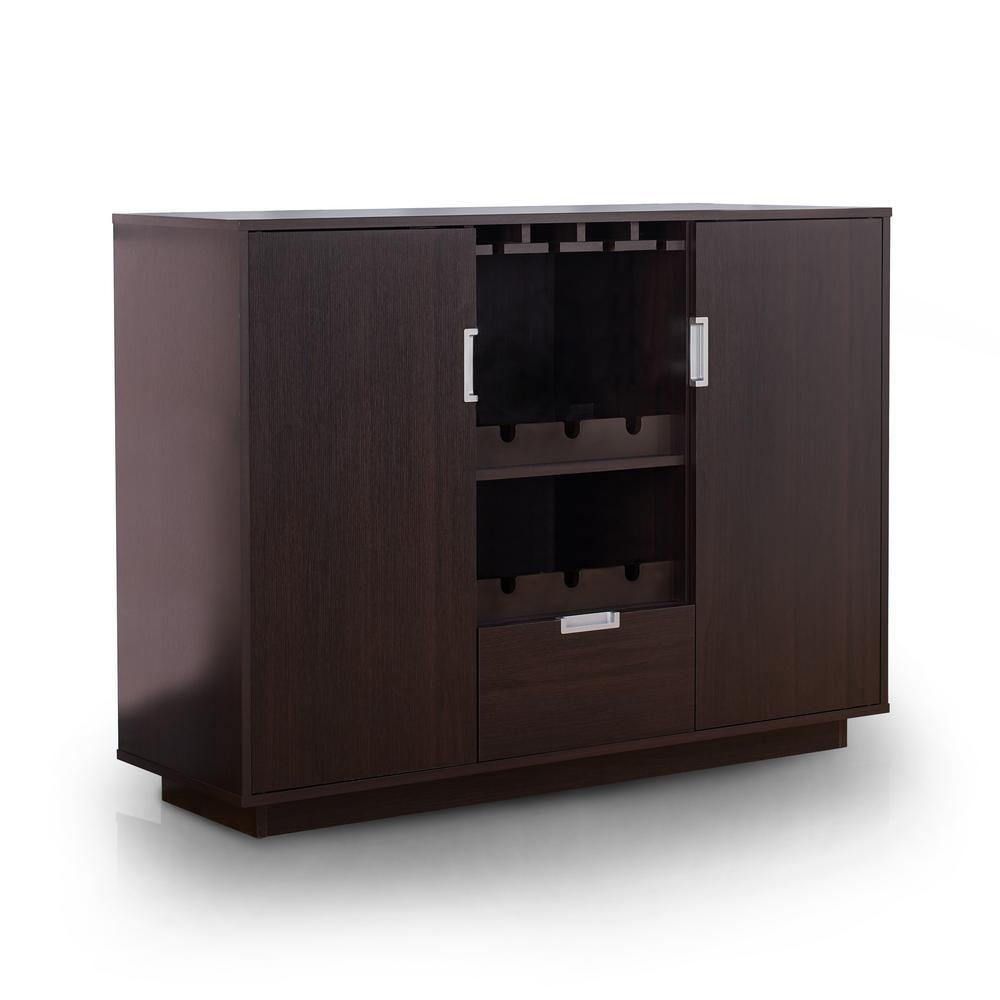 Furniture of America Henese Espresso Buffet YNJ-1460C5