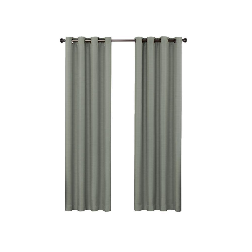 Bryson Blackout Window Panel in Celadon - 52 in. W x 63 in. L