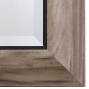 Internet 206526123 Yosemite Home Decor Mirror With Frame In Gray Wood