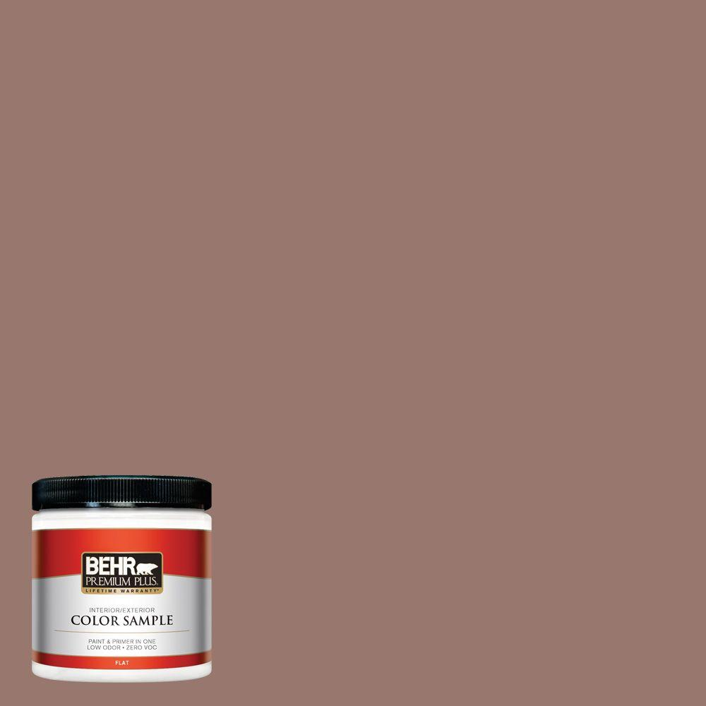 8 oz. #N160-5 Chocolate Delight Interior/Exterior Paint Sample