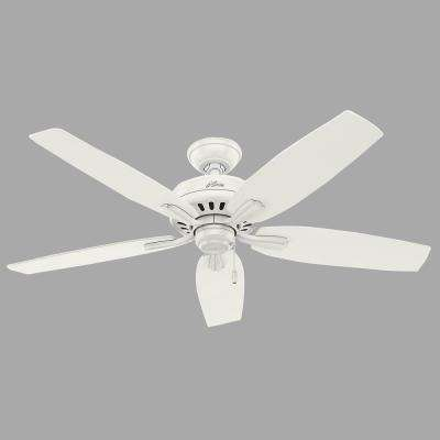 Newsome 52 in. Indoor/Outdoor Fresh White Ceiling Fan