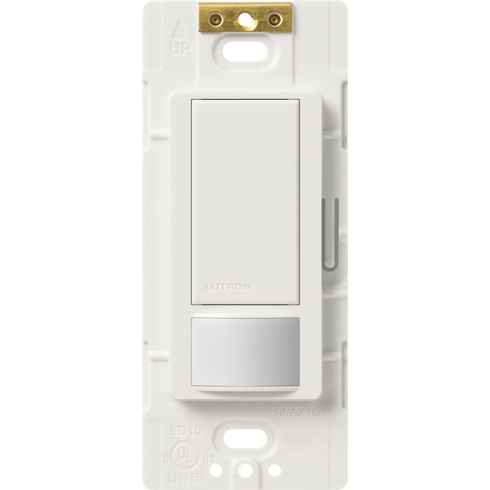 Lutron Maestro 2 Amp Single-Pole Occupancy Sensing Switch - White