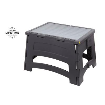 1-Step Plastic Stool with 300 lbs. Load Capacity