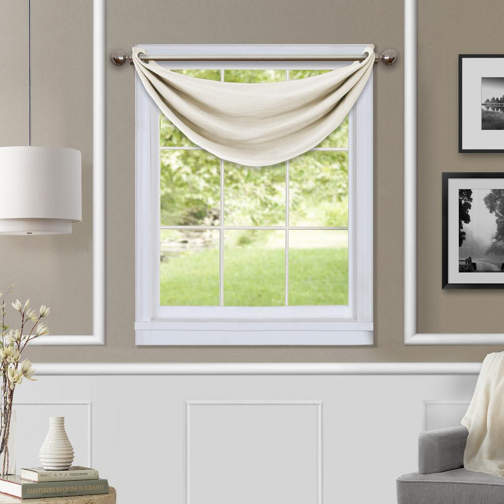 Eclipse Canova Blackout Chocolate Polyester Curtain