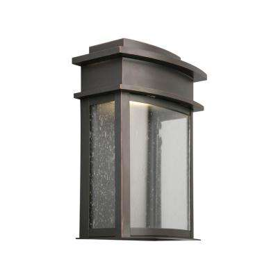 Fairview 8-Watt Oil Rubbed Bronze Integrated LED Outdoor Wall Sconce