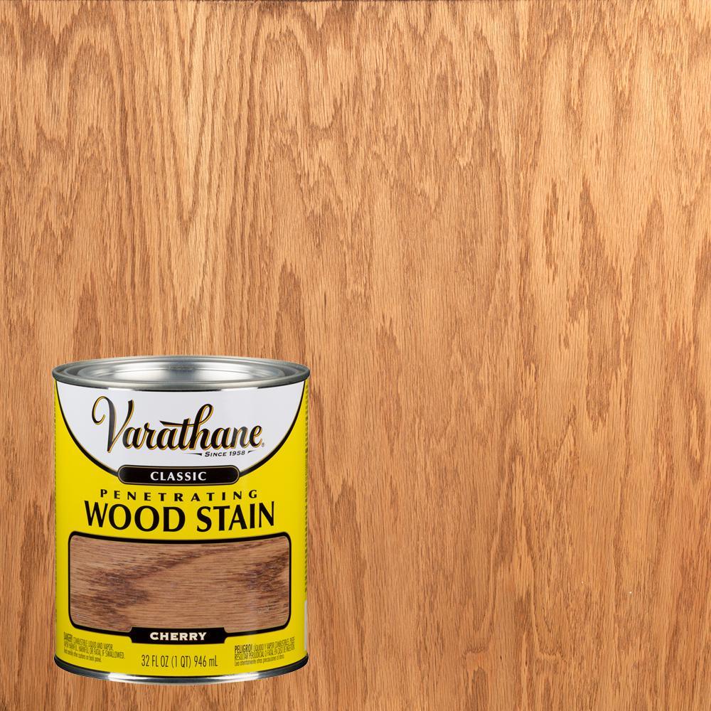Varathane 8 oz. Cherry Classic Interior Wood Stain (4-Pack ...