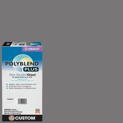 Polyblend Plus #19 Pewter 10 lb. Non-Sanded Grout