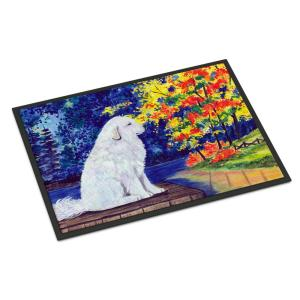 Carolines Treasures SS8220MAT Afghan Hound Indoor Outdoor Doormat Multicolor 18 x 27