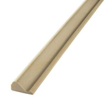 HD 163 11/16 in. x 1-3/8 in. x 144 in. Polyurethane Flexible Base Cap Moulding