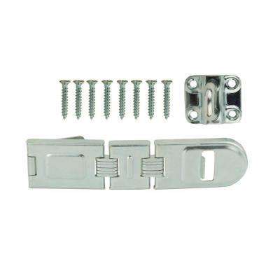7-3/4 in. Zinc-Plated Double Hinge Safety Hasp